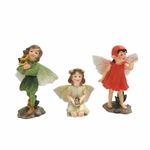Mini Garden Fairies Trio