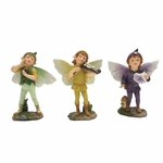 Mini Garden Pixie-Boy Trio