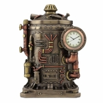 Mysterious Container Clock Trinket Box