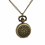 Nautical Star Pocket Watch Necklace