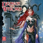 Nene Thomas 2018 Dragon Witch Calendar