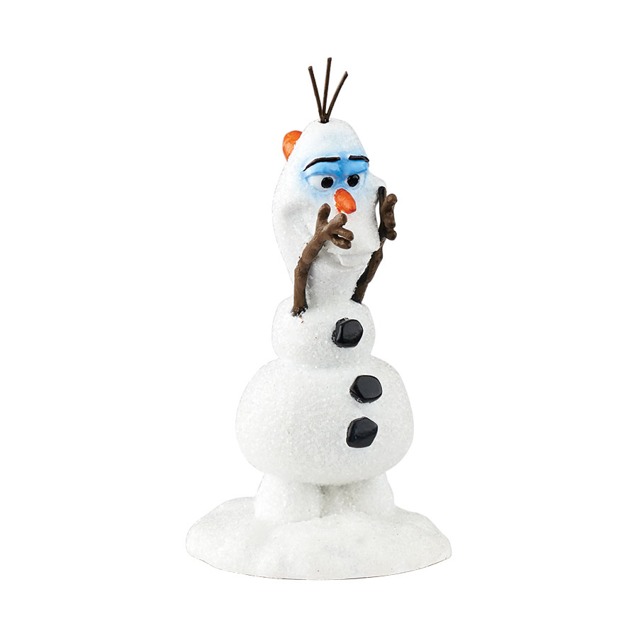 olaf 39 s new nose frozen holiday village figure department 56. Black Bedroom Furniture Sets. Home Design Ideas