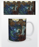 Old Friends at Play Dragon Mug