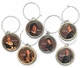 Outlander Characters Wine Glass Charms