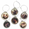 Outlander Love Wine Glass Charms