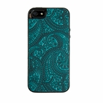 Paisley Leather iPhone Case