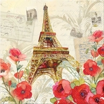 Paris Sparkle Luncheon Napkins