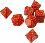 Pathfinder Curse of the Crimson Throne Dice Set