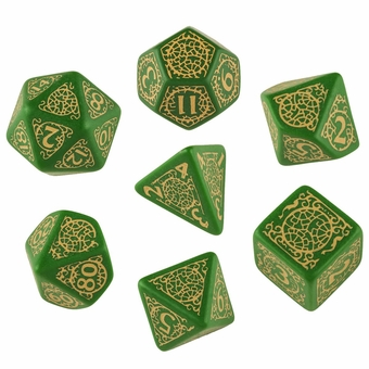 Pathfinder Jade Regent Dice Set