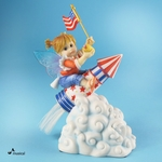 Patriotic Rocket Fairie