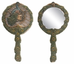 Peacock Hand Mirror