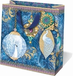 Peacock Ornaments Medium Gift Bag
