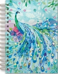 Peacock Pagoda Spiral Bound Journal