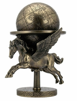 Pegasus Carrying the World