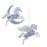 Pegasus & Unicorn Ornament Set