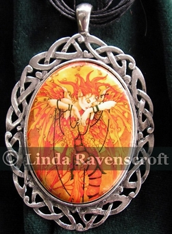 Phoenix Rising Necklace