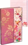 Pink Watercolor Magnetic Flap Mini Journal