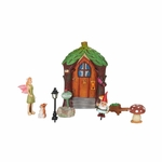 Pink-Winged Fairy Garden Starter Set