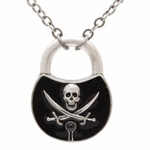 Pirate Lock Necklace