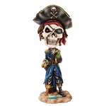 Pirate with Parrot Bobblehead