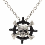 Pirate Wheel Necklace