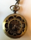 Bronze Hearts Pocket Watch