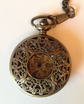 Swirl Filigree Pocket Watch