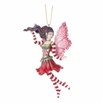Poinsettia Fairy Ornament