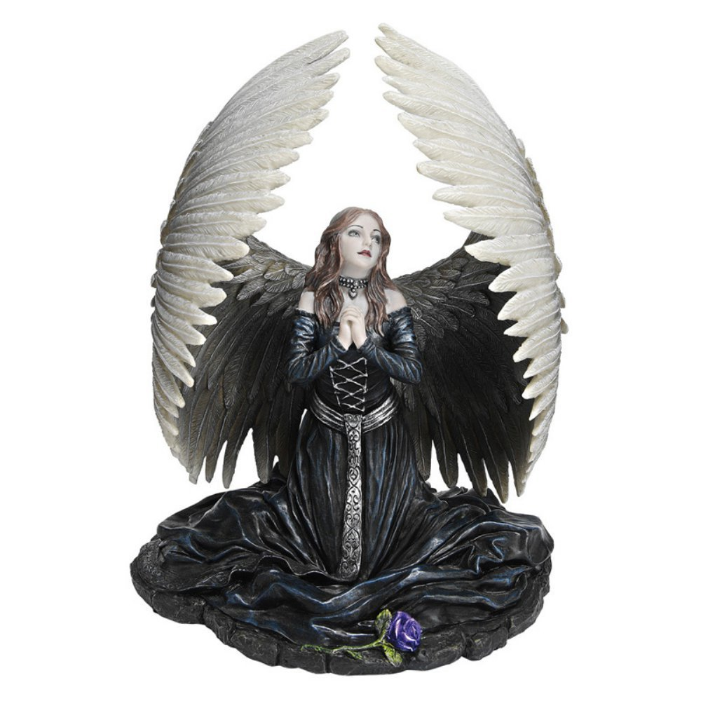 Prayer For The Fallen Figurine Anne Stokes Angel Gifts