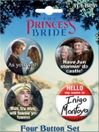 The Princess Bride Quote Button Set