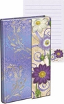Purple Daisies Magnetic Flap Mini Journal