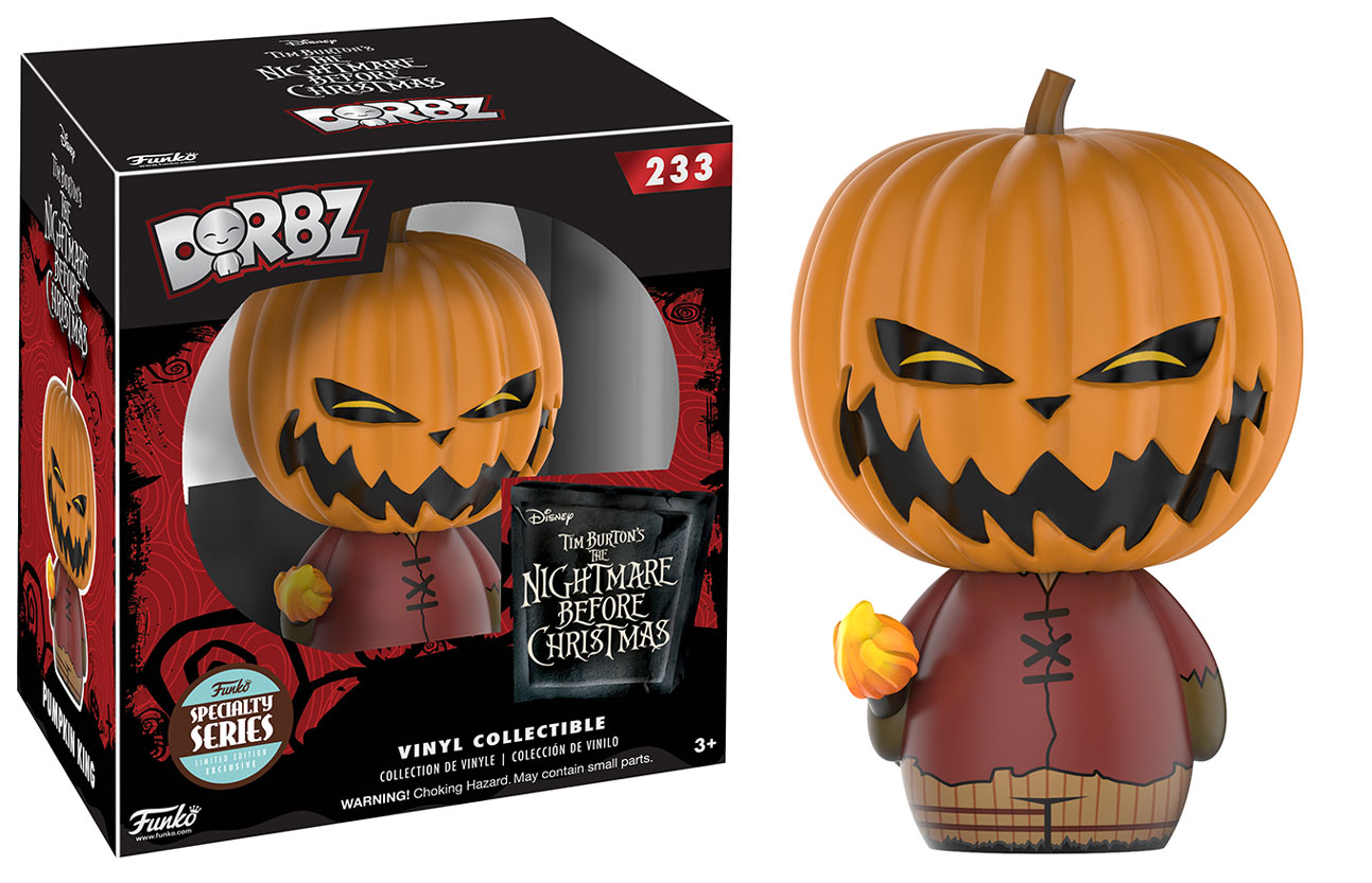 Dorbz: Pumpkin King Nightmare Before Christmas Funko Dorbz
