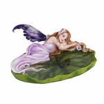 Purple Fairy Jewelry Dish