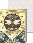 Queen Bee Diecut Window Pocket Notepad