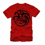 Red Targaryen T-Shirt: Game of Thrones