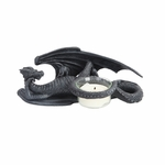 Relaxing Dragon Candle Holder