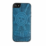 Roof of Heaven Leather iphone Case