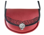 Rose Lilah Leather Handbag