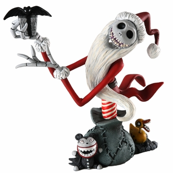 Jack Skellington Christmas.Santa Jack Skellington
