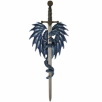 Sea Blade Dragon Sword & Holder