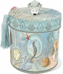 Seascape Small Cylinder Box