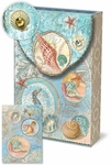 Seascape Decorative Pouch Note Cards