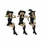See, Hear, Speak No Evil Witches