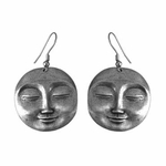 Serene Face Earrings