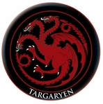 Set of 4 Game of Thrones Patches