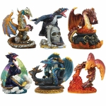 Set of 6 Small Dragons
