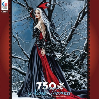 Nene Thomas Puzzle: Shadows of Snow (750 pcs)