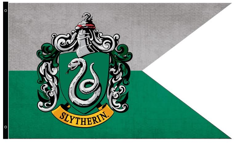 Slytherin Outdoor Flag: Harry Potter Gifts & Collectibles ...