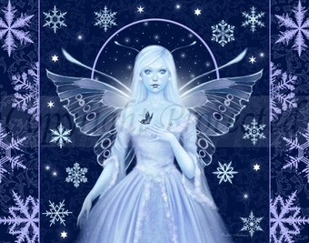 'Snow Fairy' <BR> by Rachel Anderson