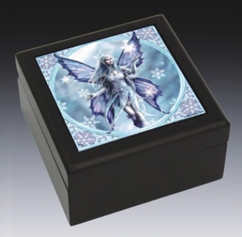Snow Fairy Tile Box